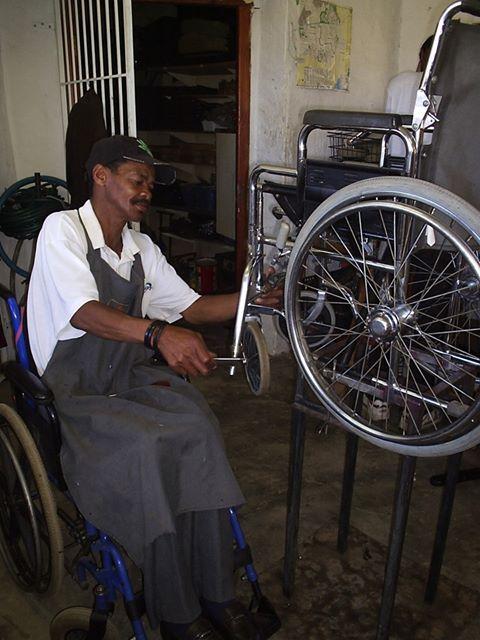 DPI NAC Wheelchair Repair